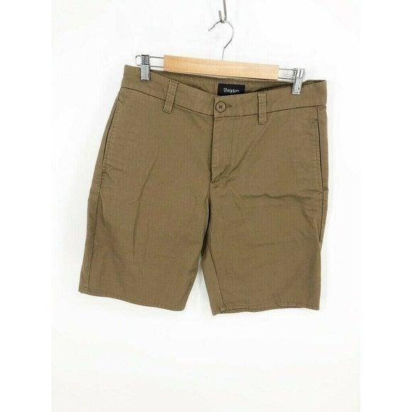 Brixton Carter Slack Short Mens Chino 32