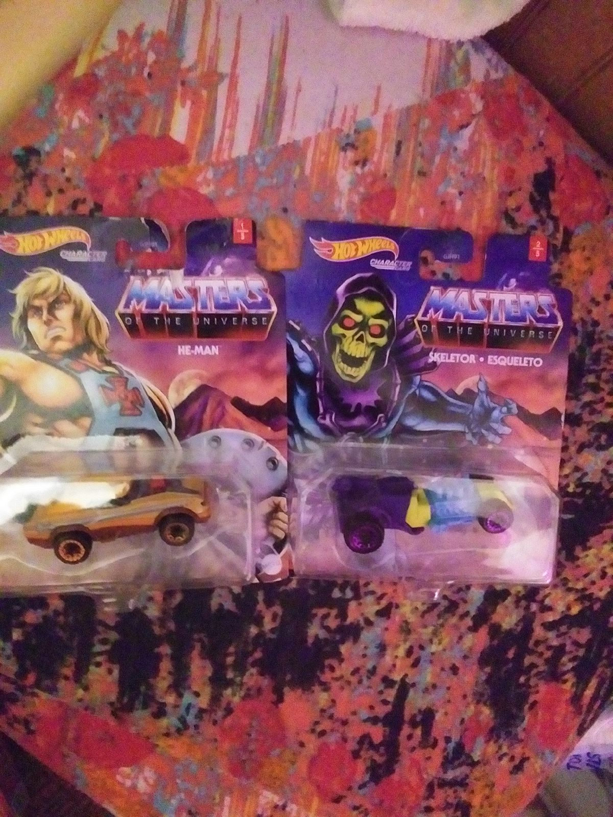 Hot Wheels Masters Of The Universe×2