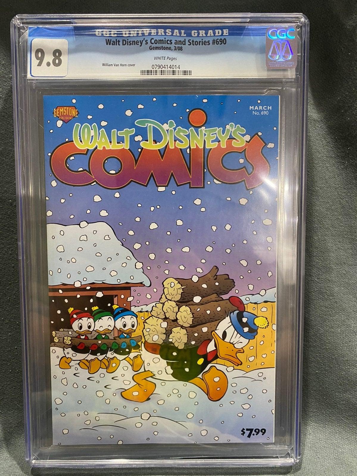 Walt disneys comics and stories 690