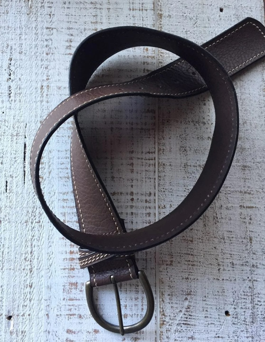 Candies vintage leather belt, NOS