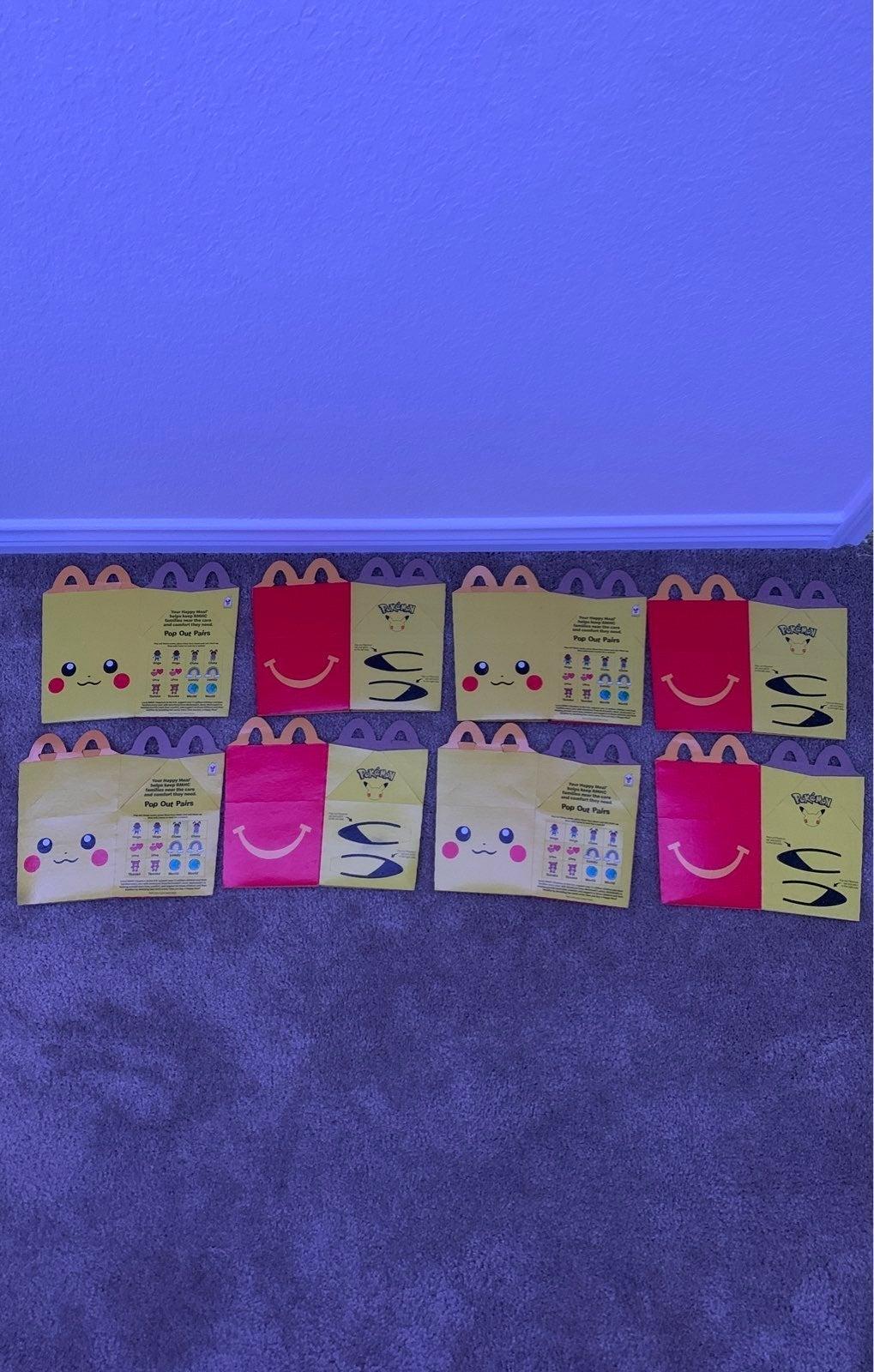 McDonald's Pikachu Box