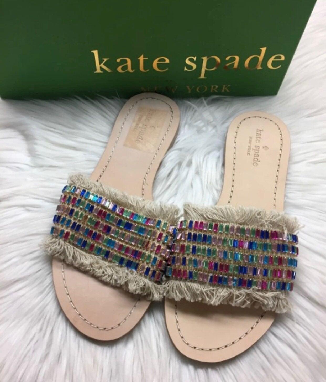 Kate Spade Jeweled Sandal Slide
