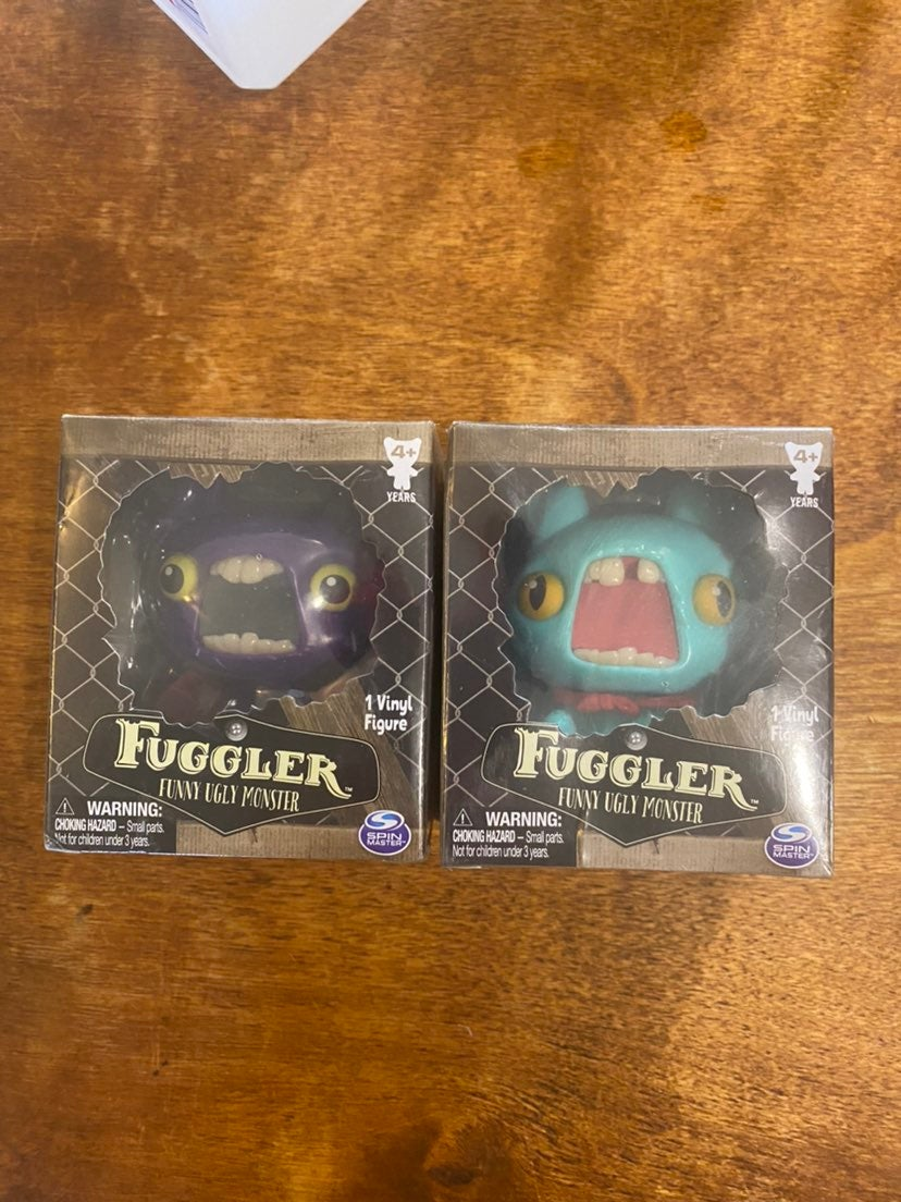 Fuggler Funny Ugly Monster 7 8 Figures
