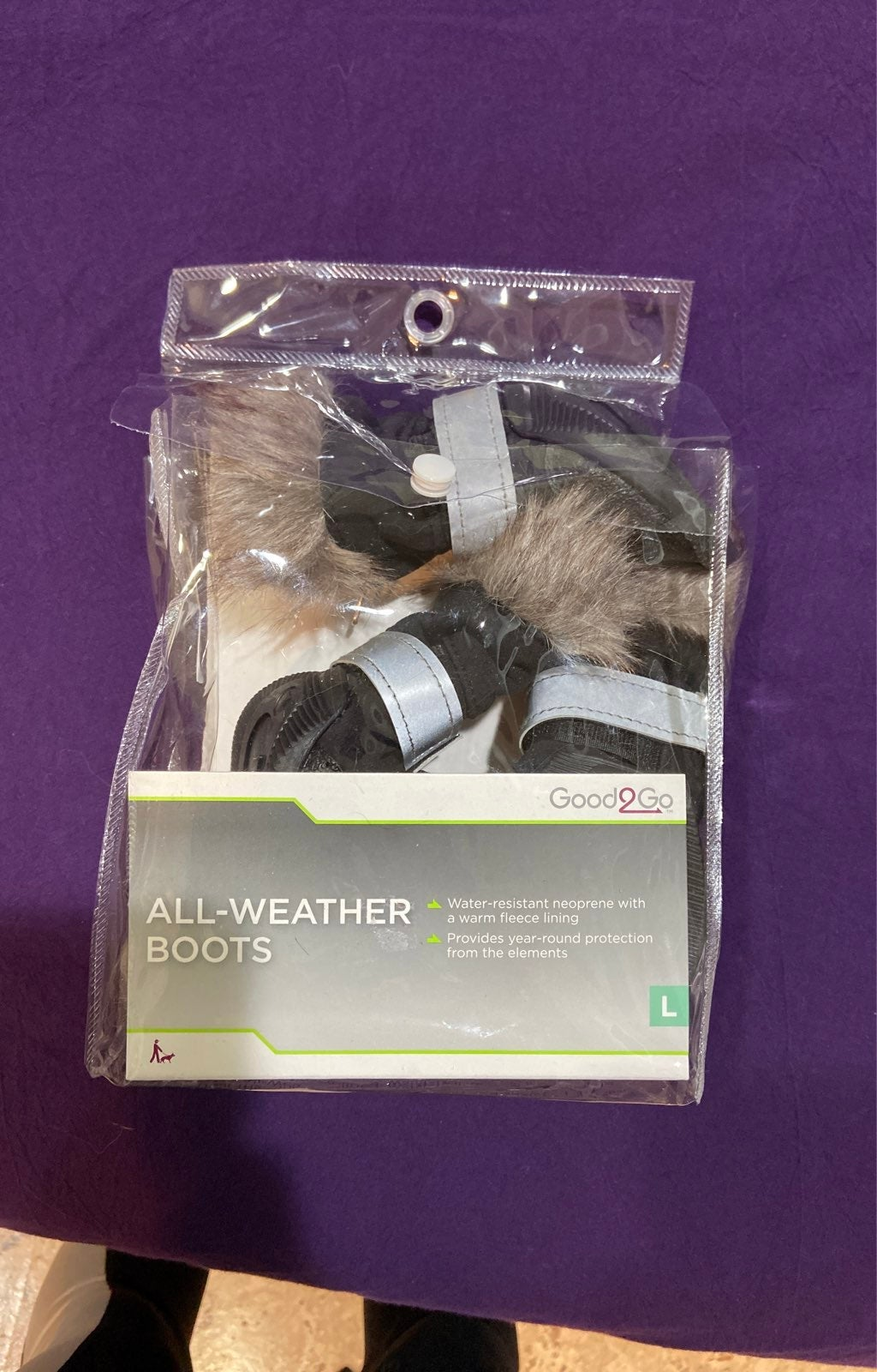 All weather dog boots