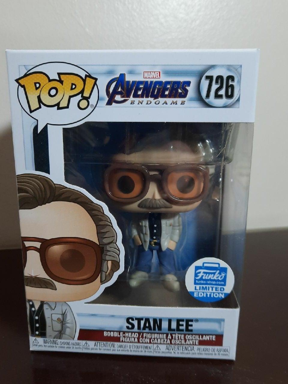 Stan Lee Funko Pop 726 endgame shop ex