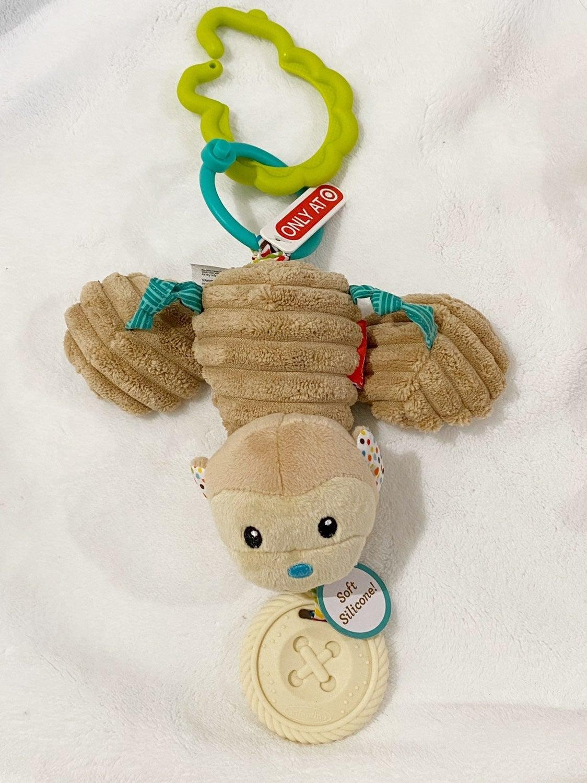 Infantino Gaga Jittery Monkey Toy Plush