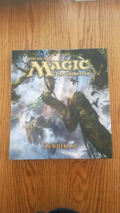 Magic the Gathering Zendikar Art Book