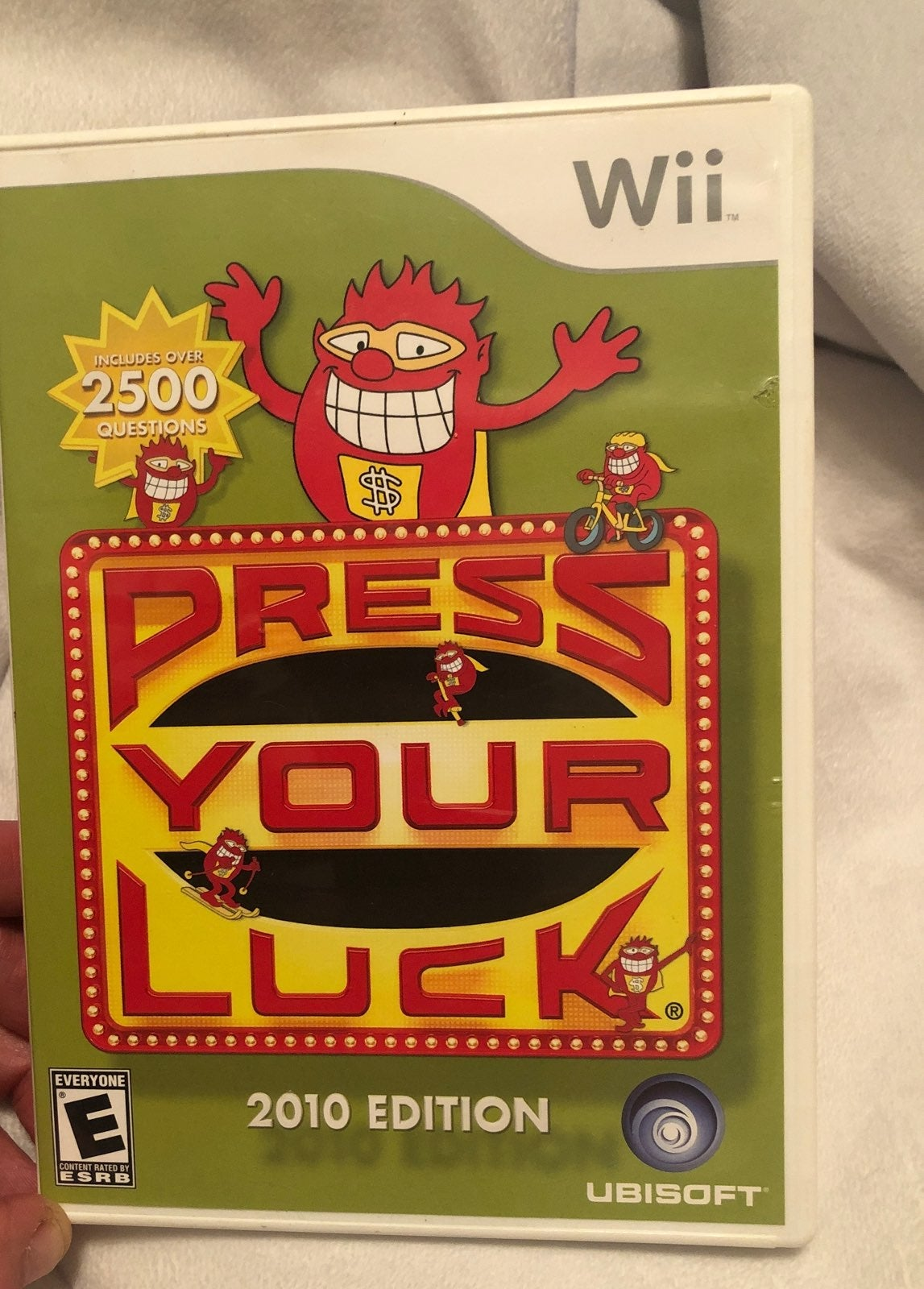 Press Your Luck 2010Edition Nintendo Wii