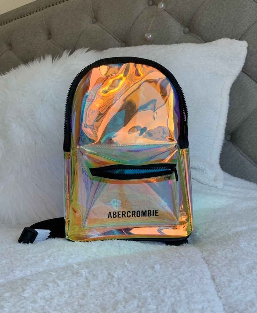 Abercrombie Holographic Backpack