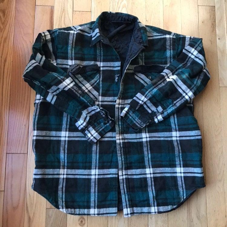 Dakota Green and black Plaid Jacket