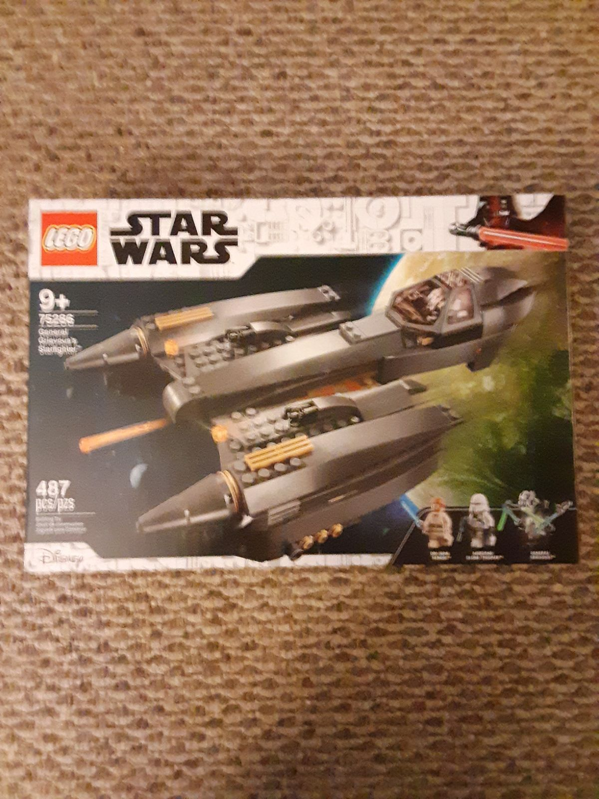 Lego Star Wars Grievous's Starfighter