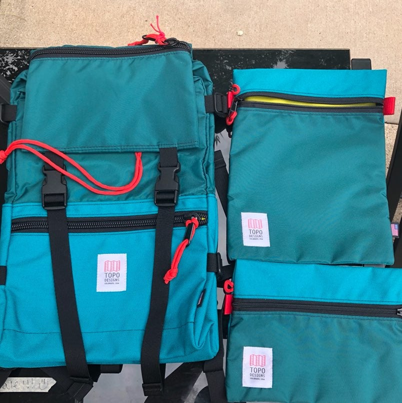 Topo Designs Brand New Rover Pack