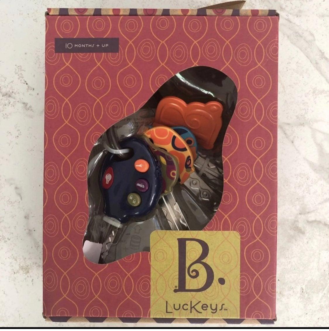 B toys baby keys - 10mo +