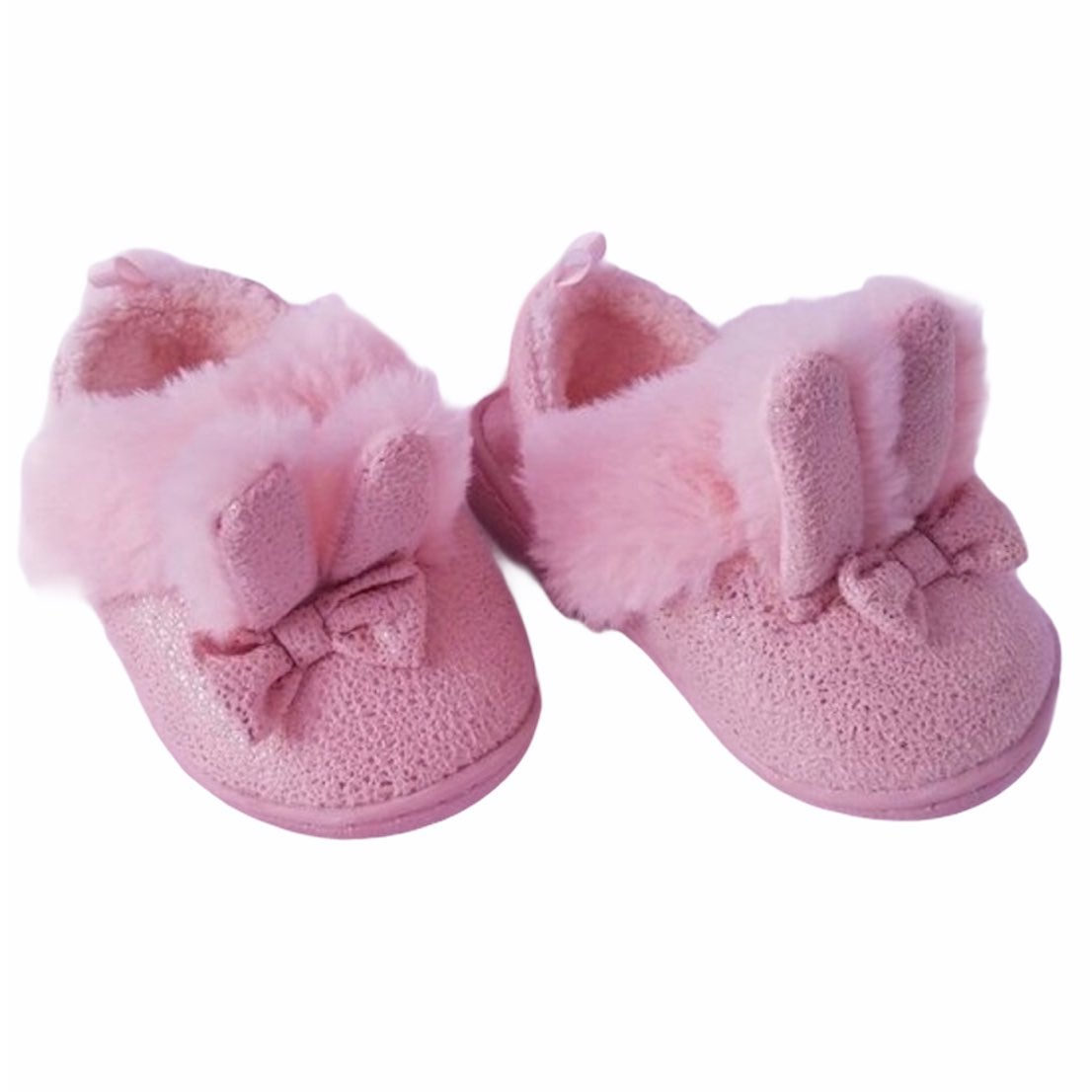 3/$25 NWOT Faux Fur Bunny Slippers