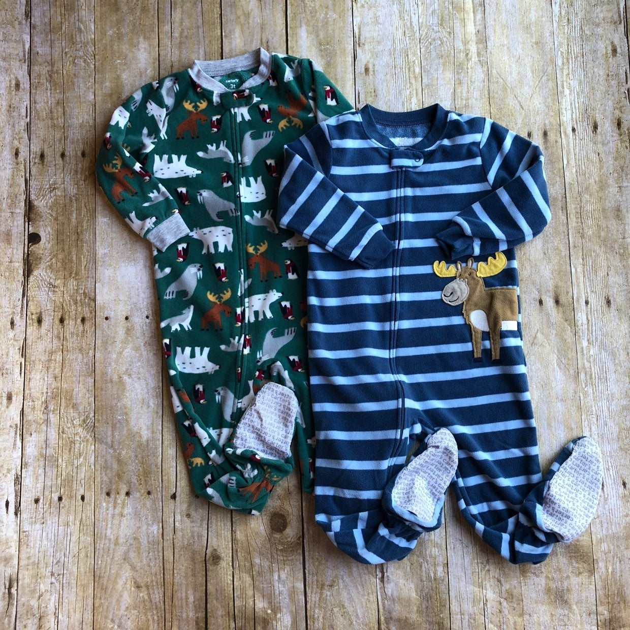 Carter's Fleece Pajama Bundle