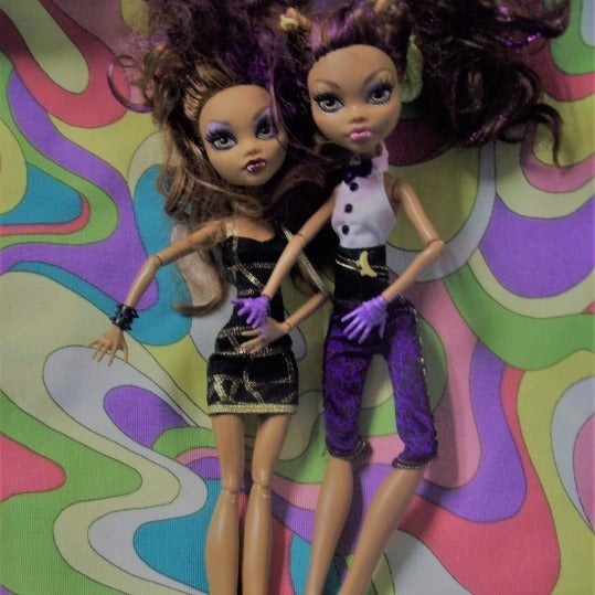 Monster High Dolls to Repurpose Fix up