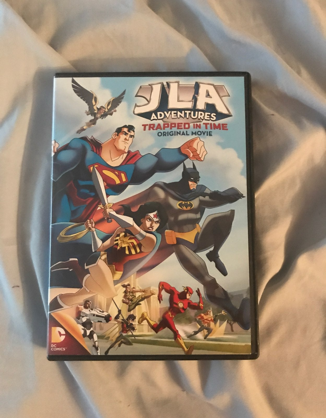 Justice League: Trapped In Time DVD