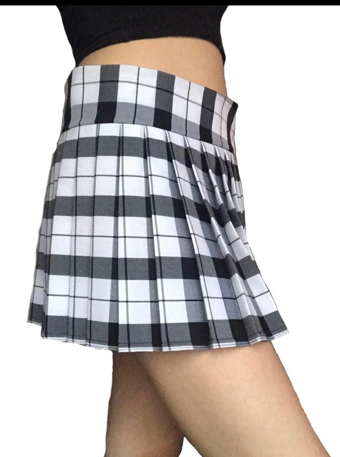 School girl mini skirt  M