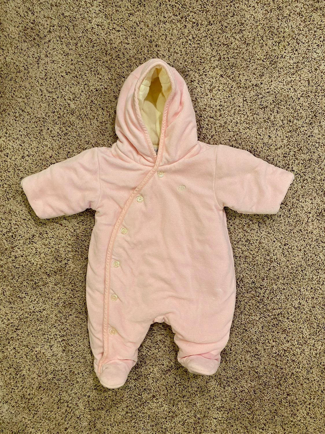 Ralph Lauren baby girl winter onesie 3m