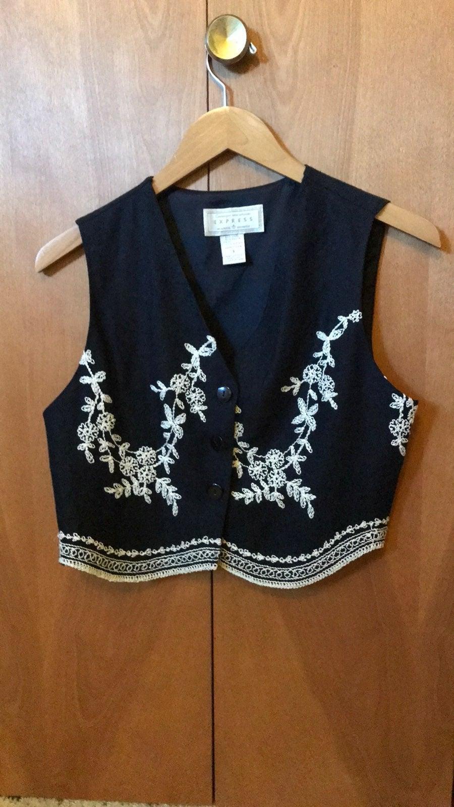 Beautiful Express Black Vest