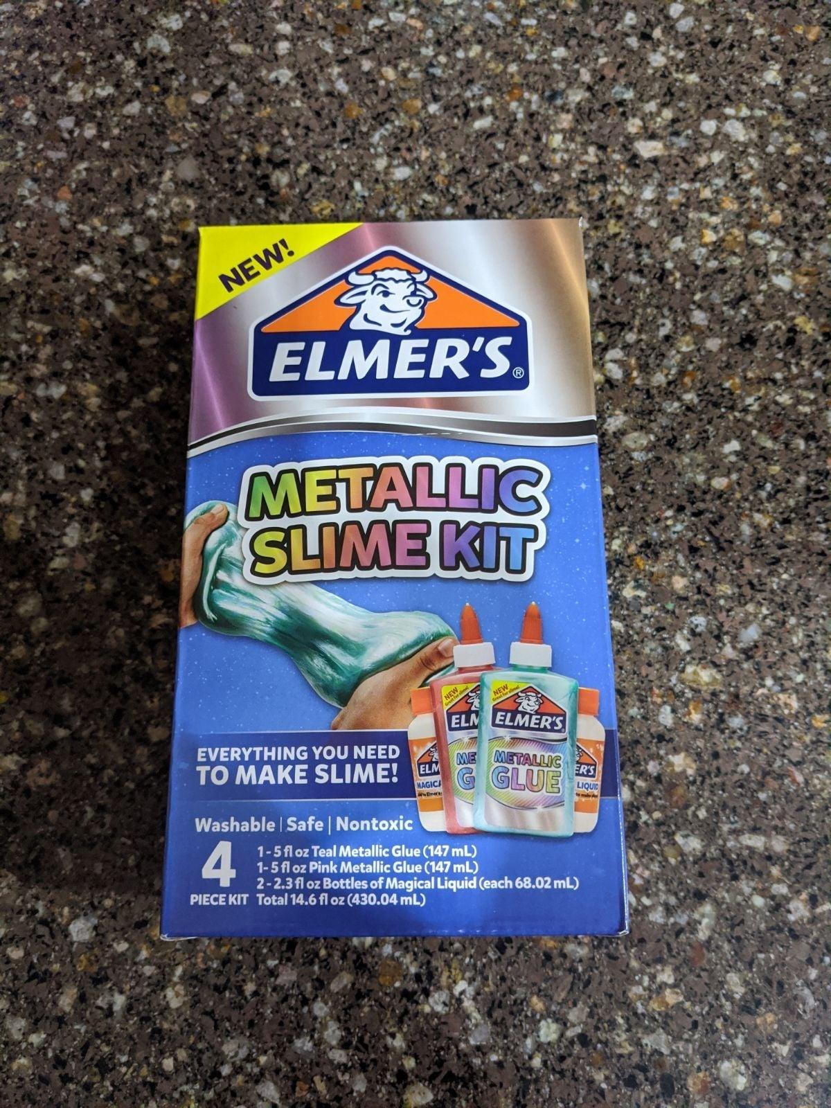 Elmer's Metallic Slime Kit - NWT!