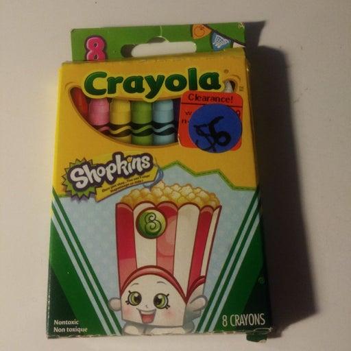 Shopkin crayons