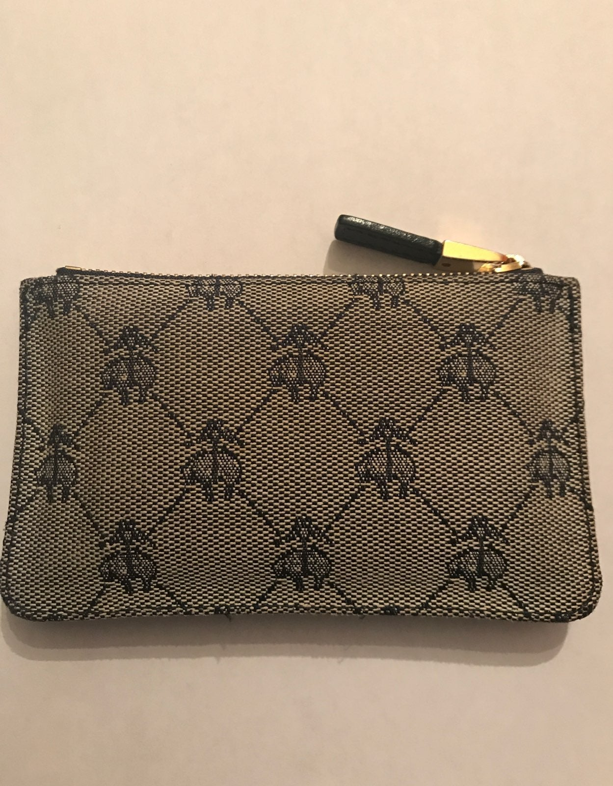 Brooks Brothers Embroidered Coin Wallet
