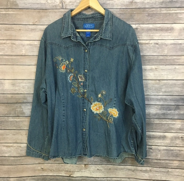Natural Reflections Embroidered Shirt