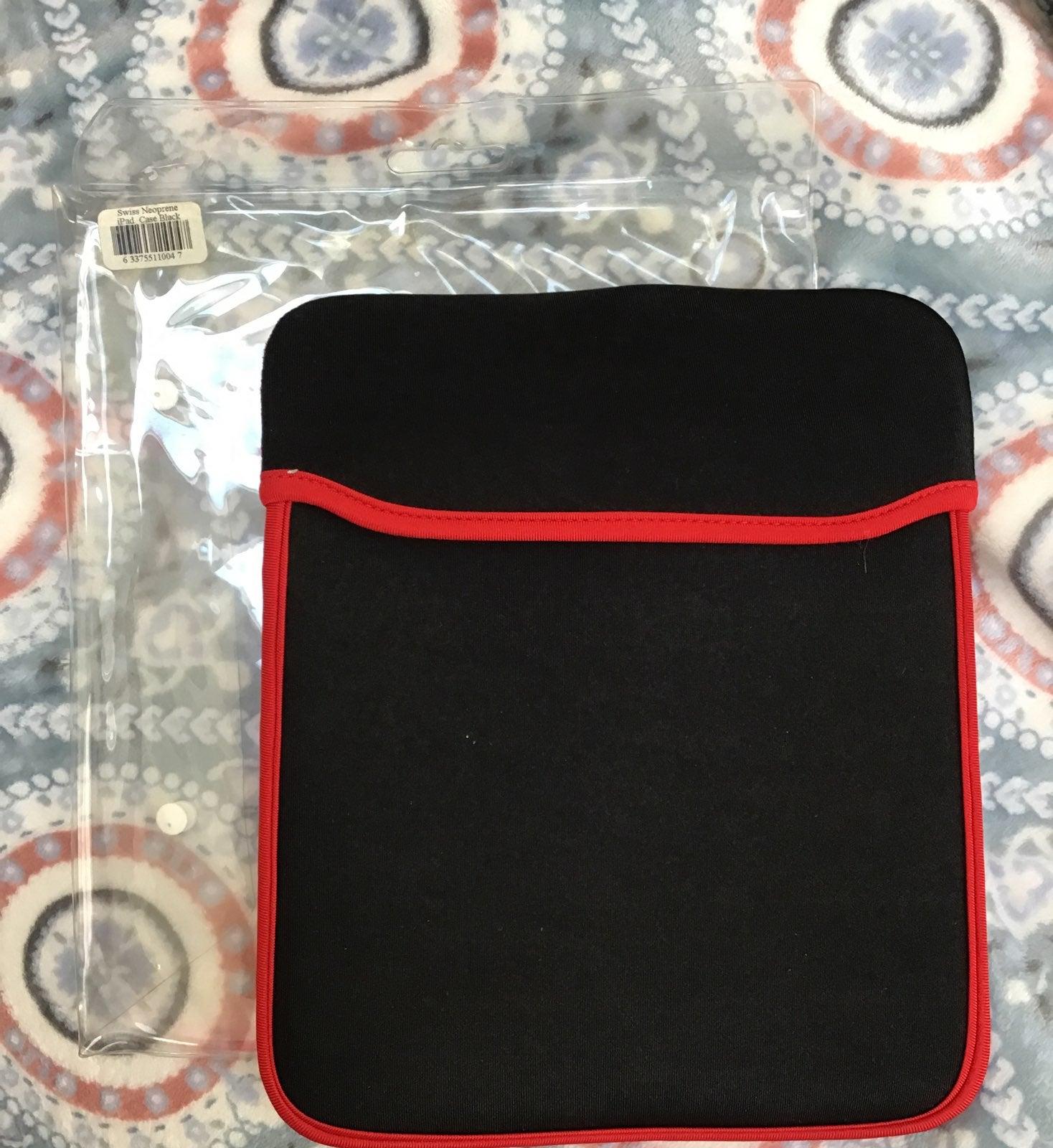 Swiss Neoprene iPad case NEW