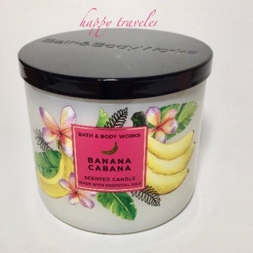 BANANA CABANA 3 Wick Candle