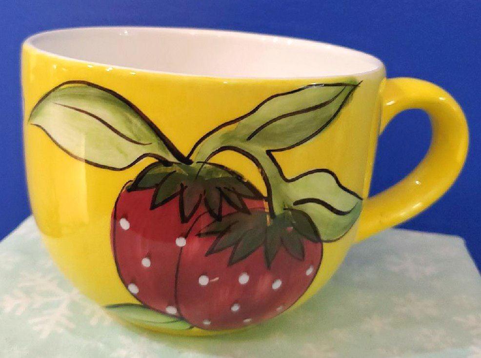 Cardinal Fruit Du Jour Latte Cups