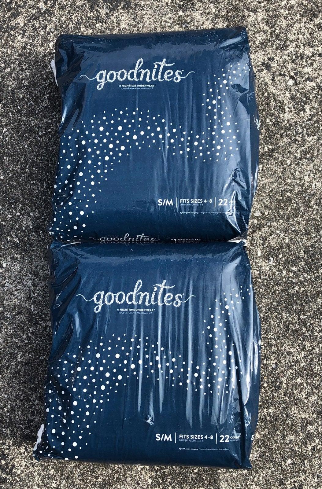 Goodnites Size S/M