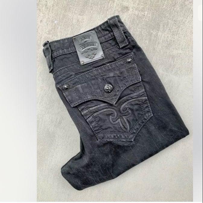 Rock Revival STEVEN Straight-leg Jeans