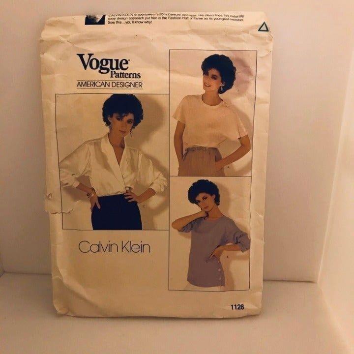 1128 Vogue Blouse sewing pattern 14