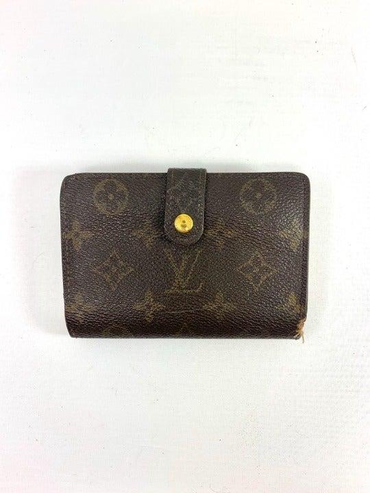 Louis Vuitton Monogram Kisslock Wallet