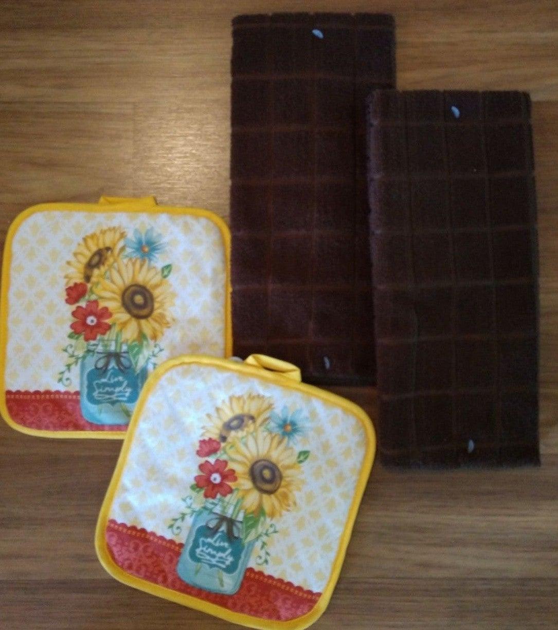Farmhouse Fall Kitchen Towel Set