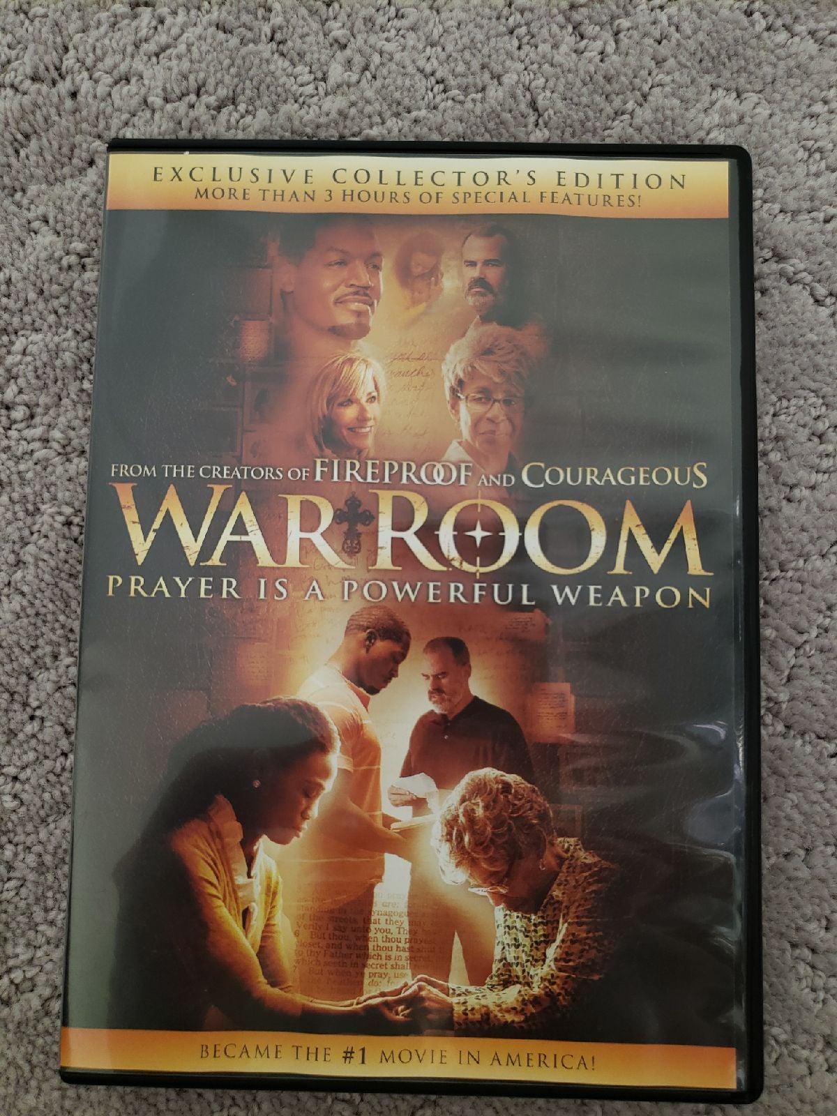 War Room DVD Movie