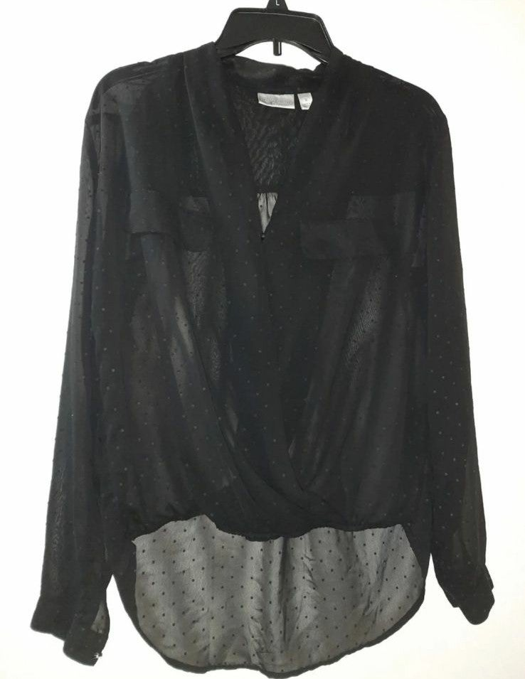 Bisou Bisou (2) Blouses Size Small