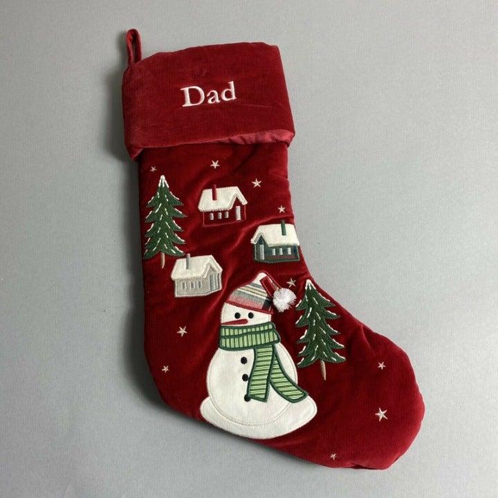 Pottery Barn Kids Christmas Stocking DAD
