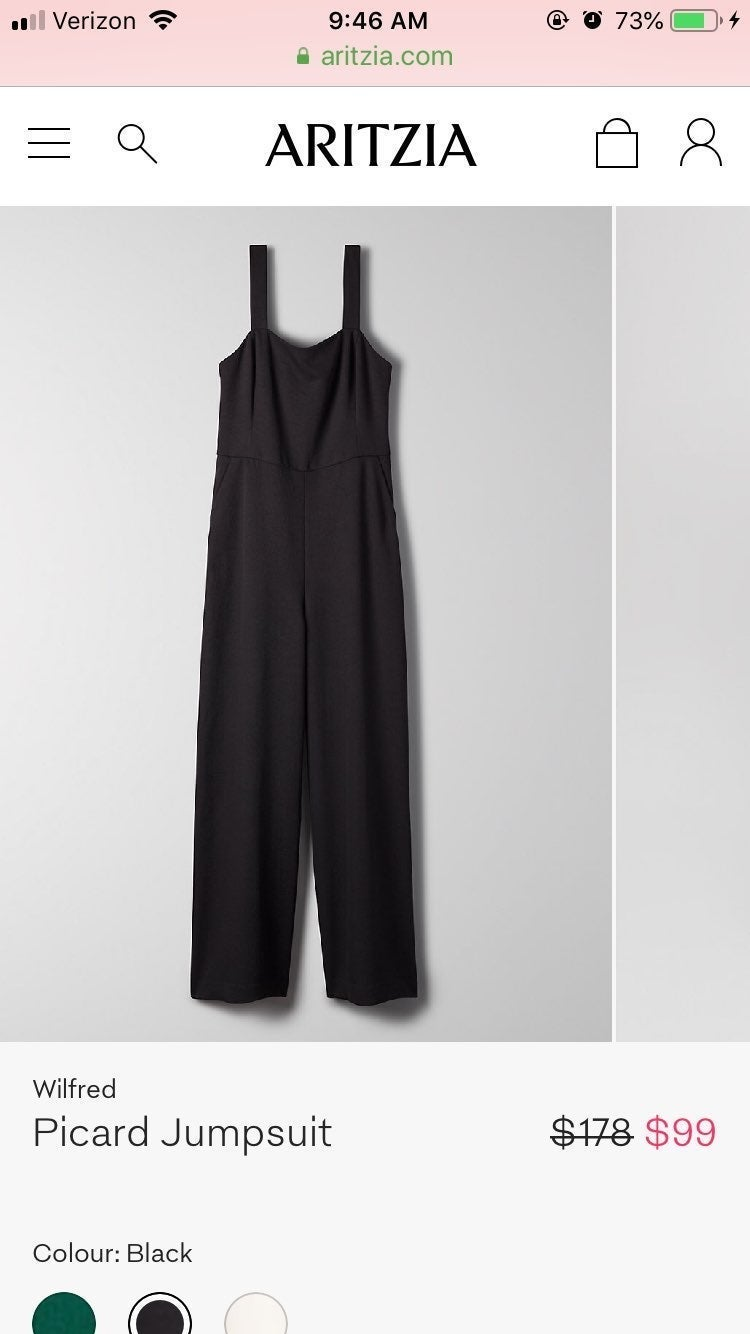 Wilfred Picard Jumpsuit In Black