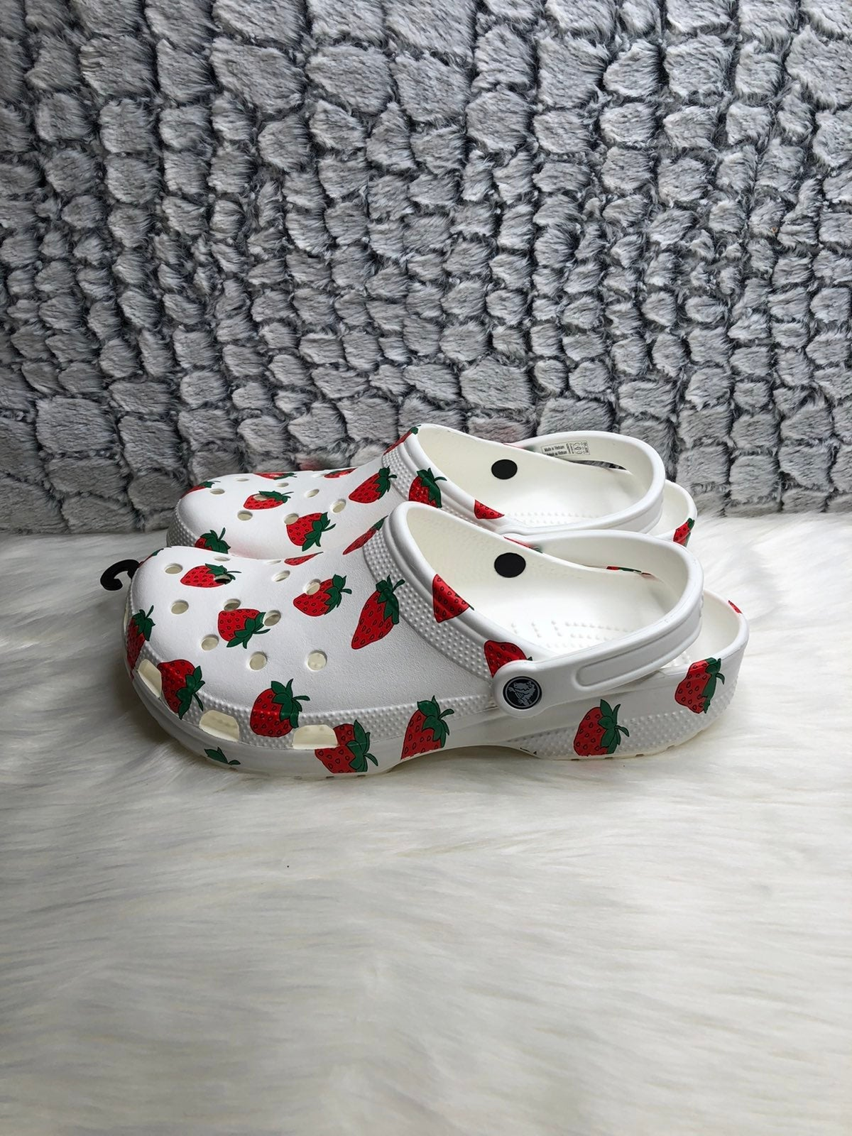 Crocs limited edition strawberry