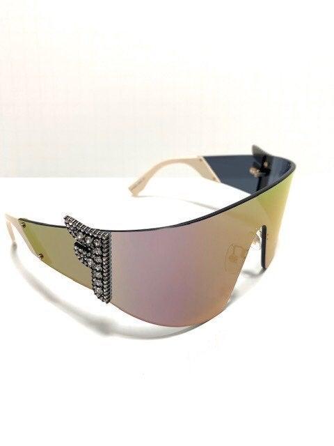 Fendi FF 0382/S J5GUE Sunglasses New