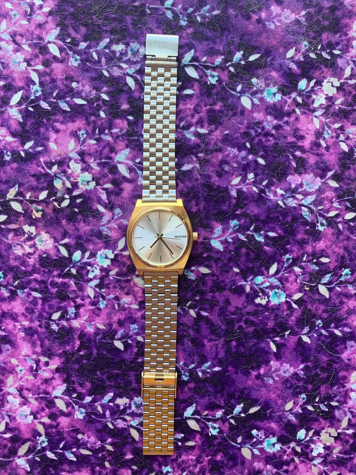 Nixon 18k Gold Platted Watch