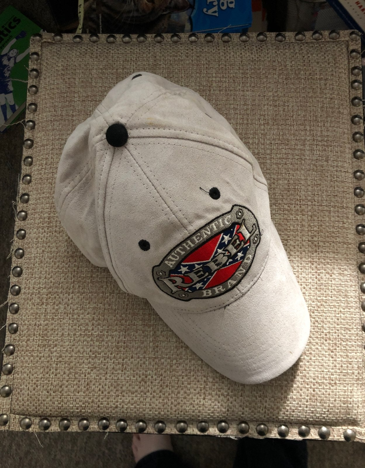 Authentic Rebel brand ball cap