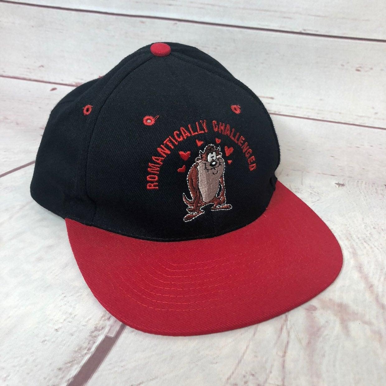 Vtg Taz Devil Baseball Hat Cap Nissin