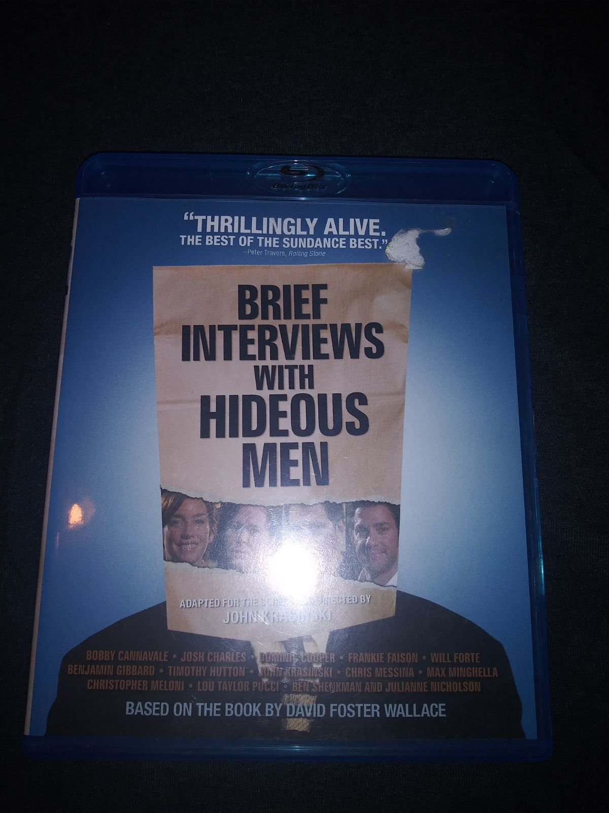 Brief interviews with hideous men bluray