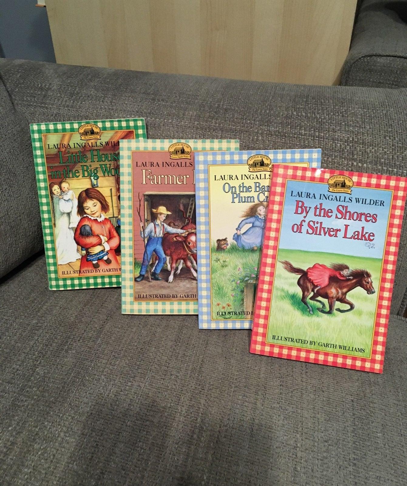 Little House books paperback