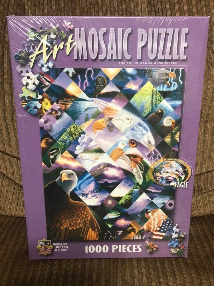 Unopened Art Mosaic Jigsaw puzzle