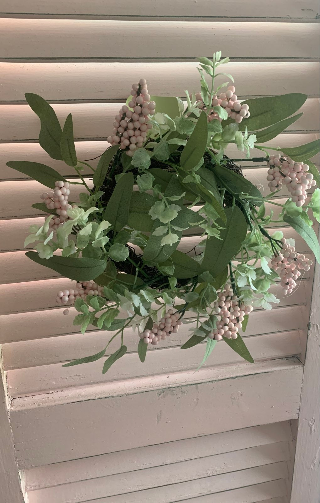 Mini Spring Floral Wreath 10 inches