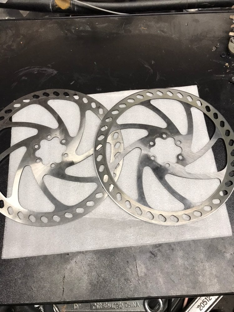 Hayes 203mm disc rotors